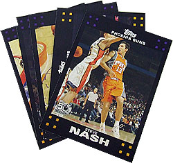 Phoenix Suns 2007-08 Topps Basketball Card Lot