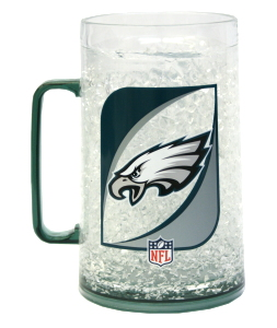 Philadelphia Eagles Crystal Freezer Mug - Monster Size