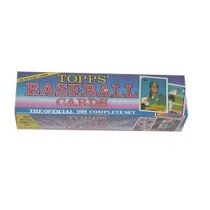 1989 Topps Baseball Cards Factory Complete Set