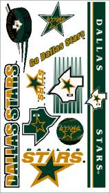 Dallas Stars Temporary Tattoos