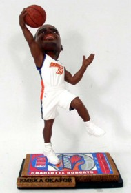 Charlotte Bobcats Emeka Okafor Ticket Base Forever Collectibles Bobble Head