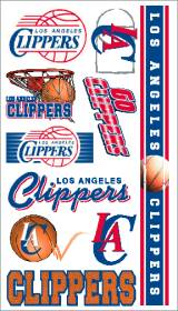 Los Angeles Clippers Temporary Tattoos