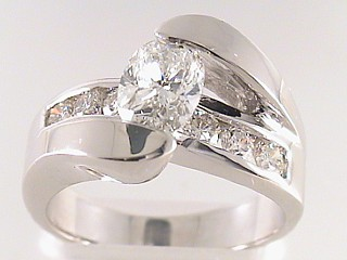 1.89 ct PGS Certified Oval Diamond Engagement Ring SOLD