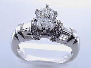 2.16 Carat GIA Certified Oval Cut Diamond Engagement Ring SOLD