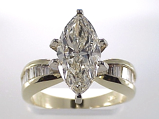 4.66 Carat Colossal Marquise Cut Diamond Engagement Ring SOLD