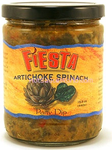Fiesta Artichoke Spinach Party Dip, 15.5oz.