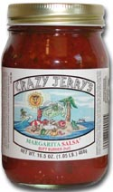 Crazy Jerry's Margarita Salsa, 16.5oz.