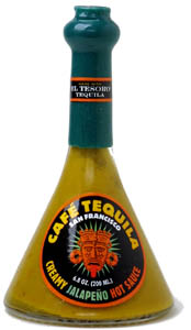 Caf� Tequila Creamy Jalapeno Hot Sauce