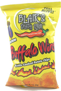 Blair's Buffalo Wing Kettle Cooked Potato Chips
