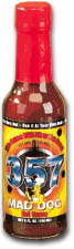 357 Mad Dog Hot Sauce - Hottest Hot Sauce #1