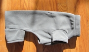 Dachshund Smoky Grey Fleece Bodysuit