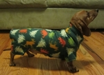 Dachshund Hunter Holiday Trees Indoor/Outdoor Bodysuit