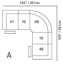 Palliser Dallin Section Configuration A