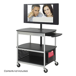 Scoot Open Flat Panel Multimedia Cart