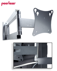 SA730P SmartMount Articulating Wall Arm for 10-24 inch LCDs