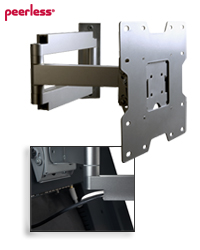 SA740P Articulating Wall Arm for 22-40 inch LCDs up to 80 lb