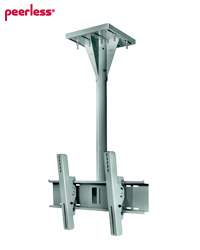 Peerless 1-4 ft Wind Rated 90 mph I-beam Tilt Mount for 32-65 in TVs