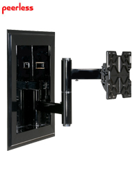 In Wall Mount and Pivot Arm for 32-71 inch Flat Panel TVs