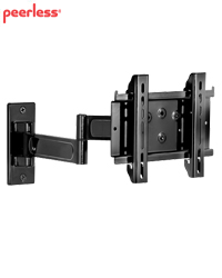 Peerless Pro Articulating Arm Wall Mount for 10-26 inch LCDs