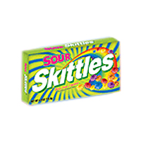Skittles Sour Box Theater Size Candy