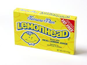 LemonHead Theater Size Candy