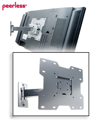SmartMount Pivot Wall Mount for 22-40 in. Flat Panels up to 80 lb