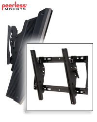 SmartMount Universal Tilt Wall Mount for 23-46 in. LCDs