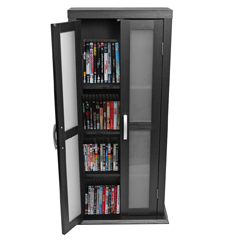 Wood DVD Tower