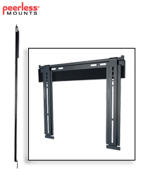 Ultra-Slim Universal Flat Wall Mount for 23-46 in. Slim LCDs