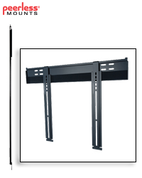 Ultra-Slim Flat Wall Mount for 32-56 in. Ultra-thin Screens
