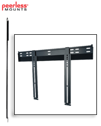 Ultra-Slim Flat Wall Mount for 37-65 in. Ultra-thin Screens