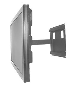 "Pivot Wall Mount With Pitch Adjustment - 15"" Extension"