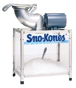 Shav-A-Doo Snow Cone Machine