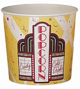 130oz Movie Theater Tubs - 150