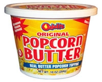 Odell's Real Butter Topping - 10 oz Tub
