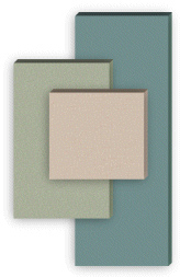 """Custom Acoustic Panel 25-36"""" Wide Standard Fabric  2"""" Thick"""