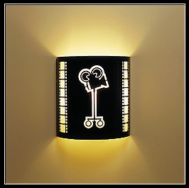 Projector Wall Sconce