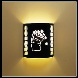 Popcorn Wall Sconce