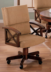 3-in-1 Chestnut Brown Game Chair
