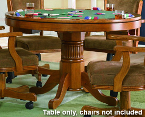 3-in-1 Oak Game Table