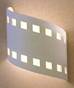 Wave Up Down Filmstrip Sconce