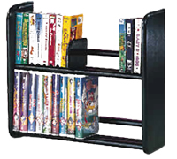 CD DVD VHS Shelves