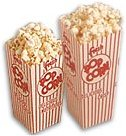 500 Scoop Box Popcorn Containers - 1 oz