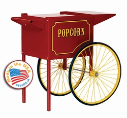 Paragon Medium Red Popcorn Cart