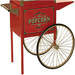 Street Vendor Antique Popcorn Trolley