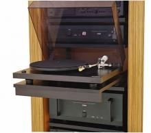 Pull-Out Turntable Shelf for AVrak or Fatrak