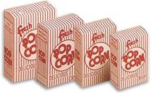 1.25 oz Closed Top Popcorn Boxes - 500