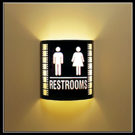 Restroom Wall Sconce