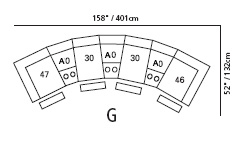 Prentice Sectional Configuration G