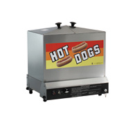 Super Steamin Hot Dog Steamer
